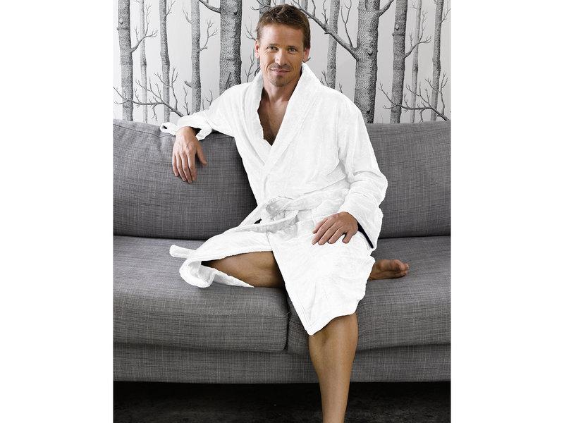 De Witte Lietaer Peignoir  Gentle - Moyen - Homme - Coton Polyester
