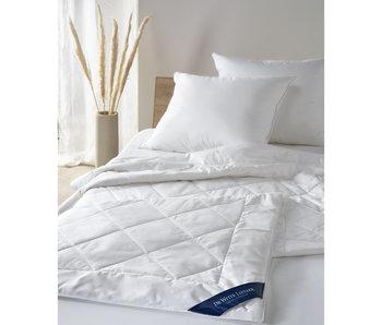 De Witte Lietaer Duvet Doodle 240x220 Weiß 100% reine Baumwolle