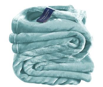 De Witte Lietaer Plaid polaire Cozy 150x200 minéral 100% polyester