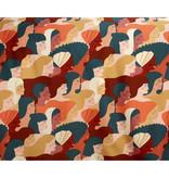 De Witte Lietaer Housse de couette Satin de Coton Anaïs - Lits Jumeaux - 240 x 220 cm - Vert
