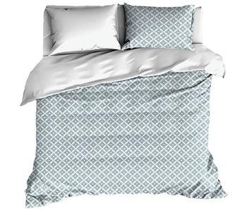 De Witte Lietaer Bettbezug Baumwolle Satin Azulejos Turmalin 200 x 200/220 cm
