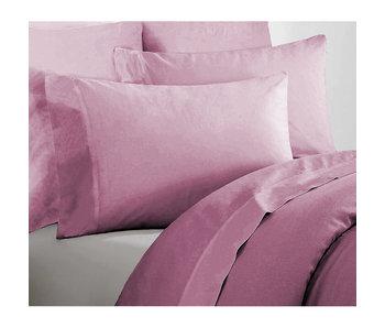 De Witte Lietaer Single sheet set Willow 180x275 + 60x70 Lilac 100% cotton, Flannel