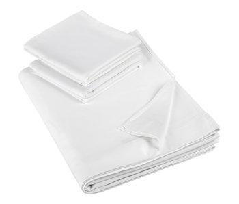 De Witte Lietaer Bettlaken Set doppelt Olivia 280x280 + 60x70 (2) Satin Baumwolle