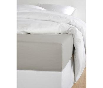 De Witte Lietaer Drap housse Satin de Coton Olivia Dove - 160 x 200 cm
