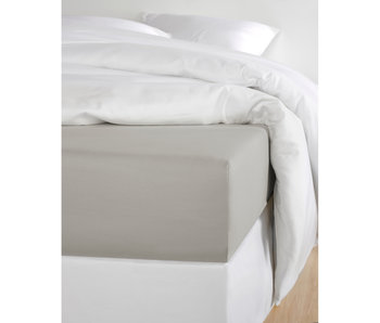 De Witte Lietaer Fitted sheet Cotton Satin Olivia Dove - 160 x 200 cm