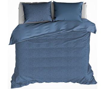 De Witte Lietaer Housse de couette TARBOT 240x220 + 60x70 (2) Stellar Blue 100% coton, flanelle