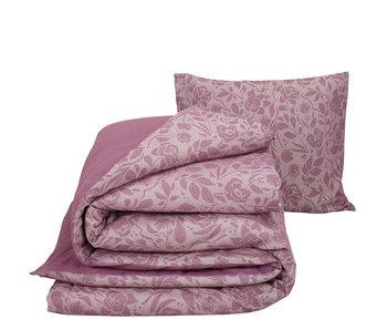 De Witte Lietaer Duvet cover Cotton Flannel Lea Lilac 140 x 200/220 cm