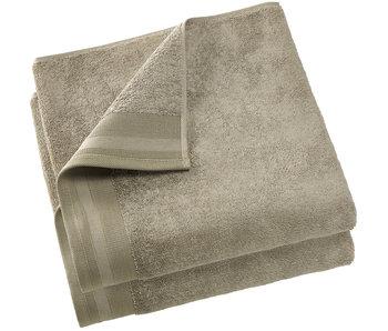 De Witte Lietaer Shower towel Contessa Taupe 70 x 140 cm - 2 pcs.
