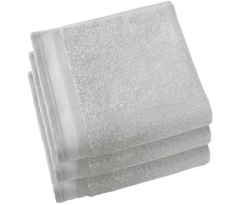 De Witte Lietaer Handdoeken Contessa Silver 50 x 100 cm - 3 st.