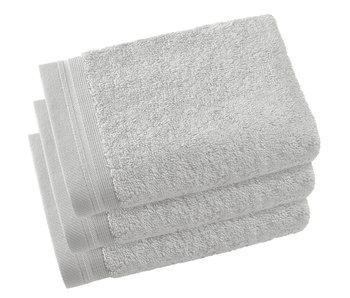 De Witte Lietaer Guest towels Contessa Silver 40 x 60 cm - 3 pcs.