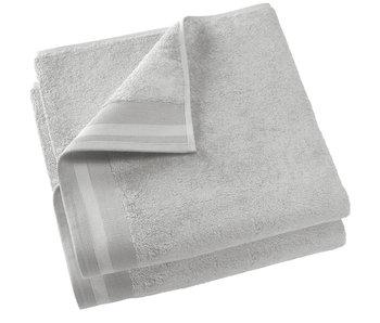 De Witte Lietaer Shower towel Contessa Silver 70 x 140 cm - 2 pcs.