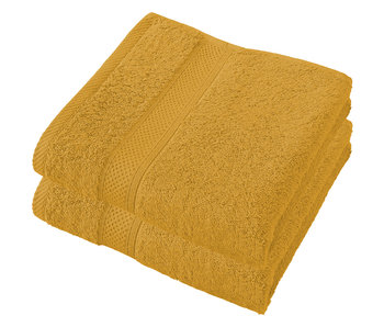 De Witte Lietaer Handdoeken Stéphanie Golden Yellow 50 x 100 cm - 2 st.