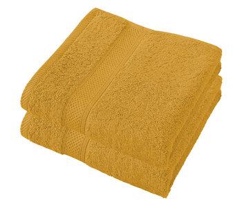 De Witte Lietaer Towels Stéphanie Golden Yellow 50 x 100 cm - 2 pcs.