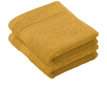 De Witte Lietaer Guest towels Stéphanie Golden Yellow 30 x 50 cm - 2 pcs.
