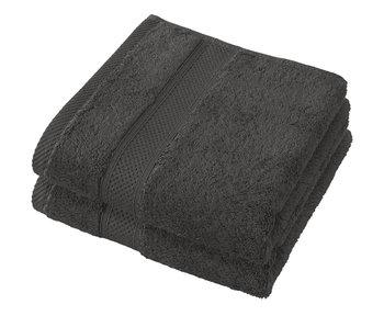 De Witte Lietaer Towels Stéphanie Ebony 50 x 100 cm - 2 pcs.