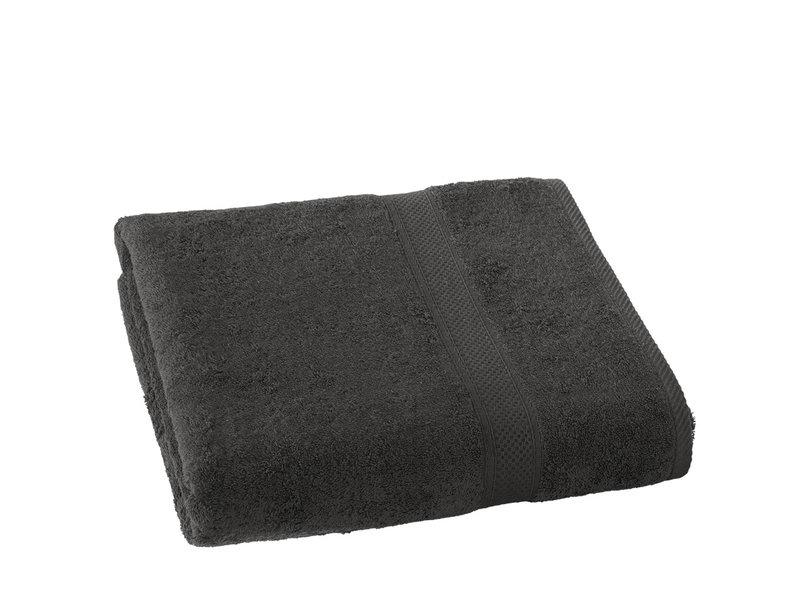 De Witte Lietaer Bath towel Stéphanie Ebony - 100 x 150 cm - Cotton