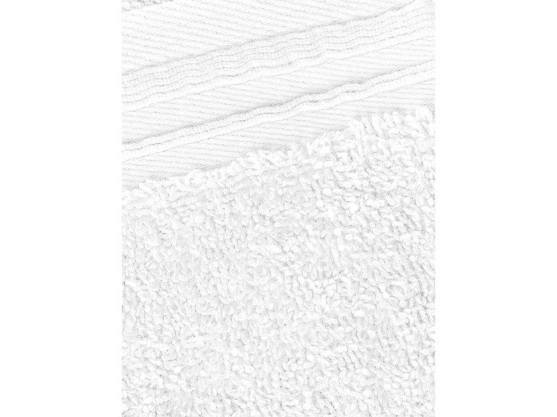 De Witte Lietaer Serviettes invités Imagine White 30 x 50 cm - 3 pièces - Coton