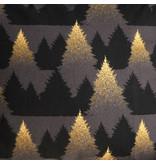 De Witte Lietaer Housse de couette en flanelle de coton Eve - Double - 200 x 200/220 cm