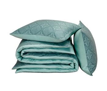 De Witte Lietaer Bettbezug Baumwolle Satin Rosmarin Goblin Blue 200 x 200/220 cm