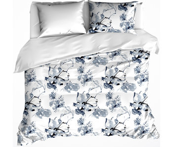 De Witte Lietaer Bettbezug Cotton Satin Quill Moonlit Ocean 200 x 200/220 cm
