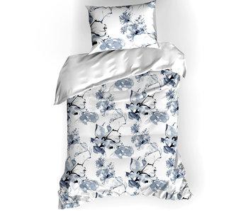 De Witte Lietaer Bettbezug Cotton Satin Quill Moonlit Ocean 140 x 200/220 cm