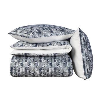 De Witte Lietaer Bettbezug Baumwolle Satin Jenga Blue Gull 240 x 220 cm