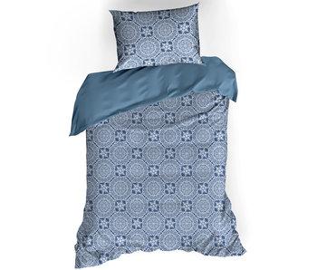 De Witte Lietaer Bettbezug Baumwolle Satin Henna Blue Horizon 140 x 200/220 cm