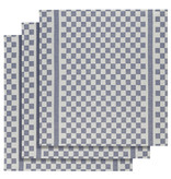 De Witte Lietaer Theedoek Groom-A - 3 stuks - 65 x 70 cm - Katoen