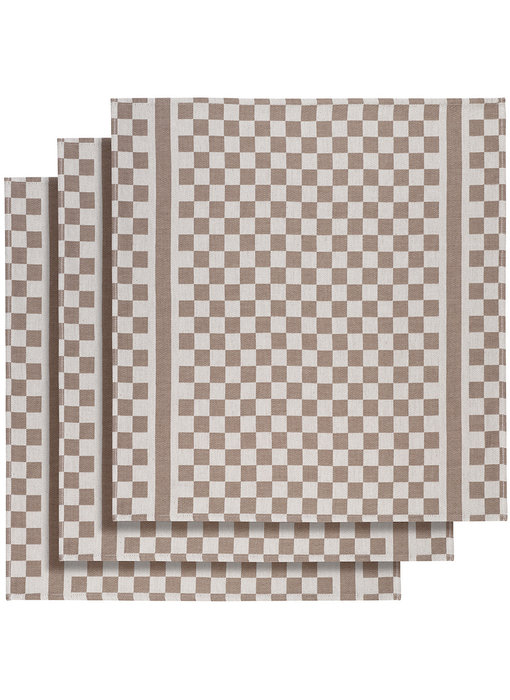 De Witte Lietaer Tea towel Groom-A Mushroom 3 pieces 65 x 70 cm