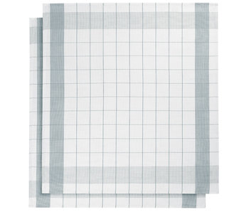 De Witte Lietaer Tea towel Glass towel Mixte Oxyde 2 pieces 68 x 68 cm