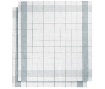 De Witte Lietaer Theedoek Glazendoek Mixte Oxyde 2 stuks 68 x 68 cm