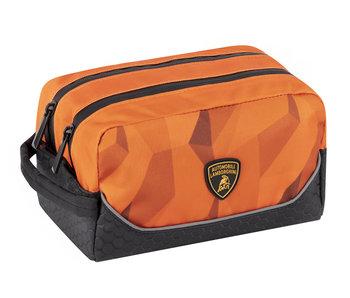 Lamborghini Kulturbeutel Orange 20 cm
