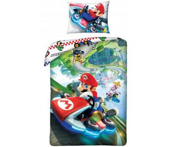 Nintendo Bettbezug Super Mario 140 x 200 cm + 70x90 cm Baumwolle