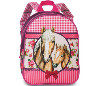 Fabrizio Toddler backpack Horses 29 x 23 cm