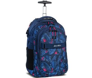 Bestway Backpack Trolley Flowers - 51 x 31 cm