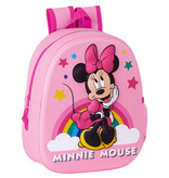 Disney Minnie Mouse Sac à dos 3D Dreaming - 33 x 27 x 10 cm - Polyester