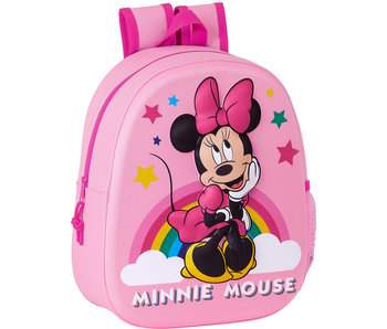 Disney Minnie Mouse Backpack 3D Dreaming 33 x 27 cm