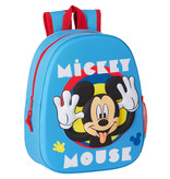 Disney Mickey Mouse Sac à dos 3D Funny  - 33 x 27 x 10 cm - Polyester