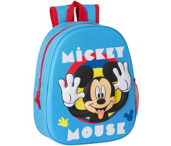 Disney Mickey Mouse Rugzak 3D Funny 33 x 27 cm