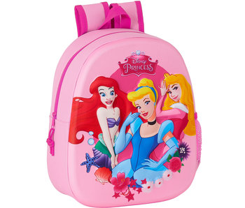 Disney Princess Rucksack 3D Beauty 33 x 27 cm