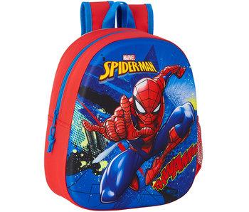 SpiderMan Rucksack 3D Great Power 33 x 27 cm