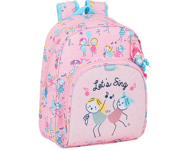 GLOWLAB Backpack Best Friends 34 x 28 cm