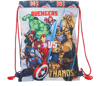 Marvel Avengers Gym Bag Junior Heroes vs Thanos 34 x 26 cm
