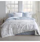 De Witte Lietaer Housse de couette Cotton Satin Ave - Double - 200 x 200/220 cm - Blanc