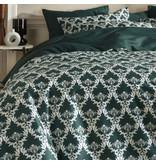 De Witte Lietaer Duvet cover Cotton Satin Rococo - Double - 200 x 200/220 cm - Green