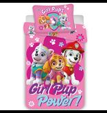 PAW Patrol Housse de couette BABY Girl Pup Power - 100 x 135 cm - Coton