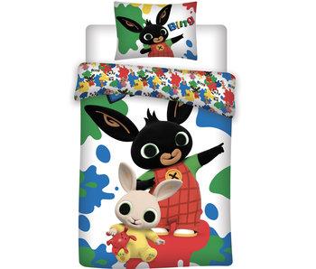 Bing Bunny Housse de couette 140 x 200 cm 70 x 90 cm coton