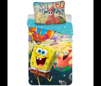 SpongeBob Dekbedovertrek Bikini Bottom 140 x 200 cm Katoen