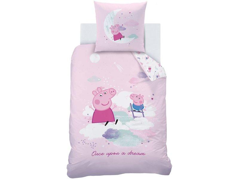 Peppa Pig Dekbedovertrek Dream - Eenpersoons - 140  x 200 cm - Katoen