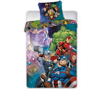 Marvel Avengers Dekbedovertrek True Heroes 140 x 200